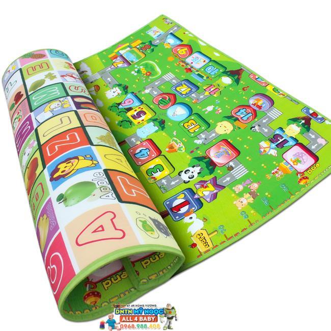 Thảm Maboshi 2 mặt cao cấp cho bé (180x200cm)