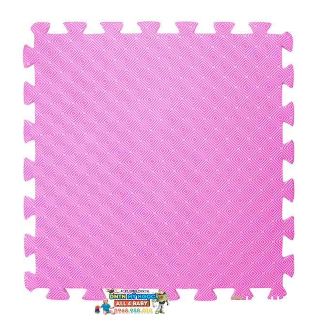 Thảm xốp vuông trơn 60x60 (4 miếng)