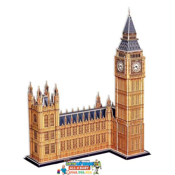 Xếp hình 3D Tòa Tháp BigBen