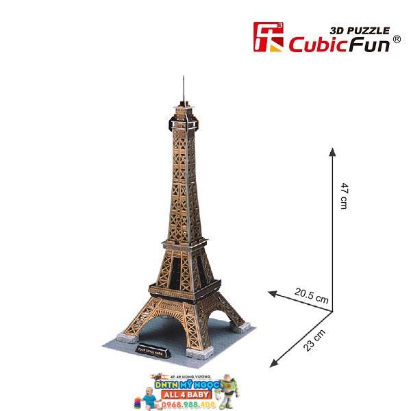 Xếp hình 3D Tháp Eiffel