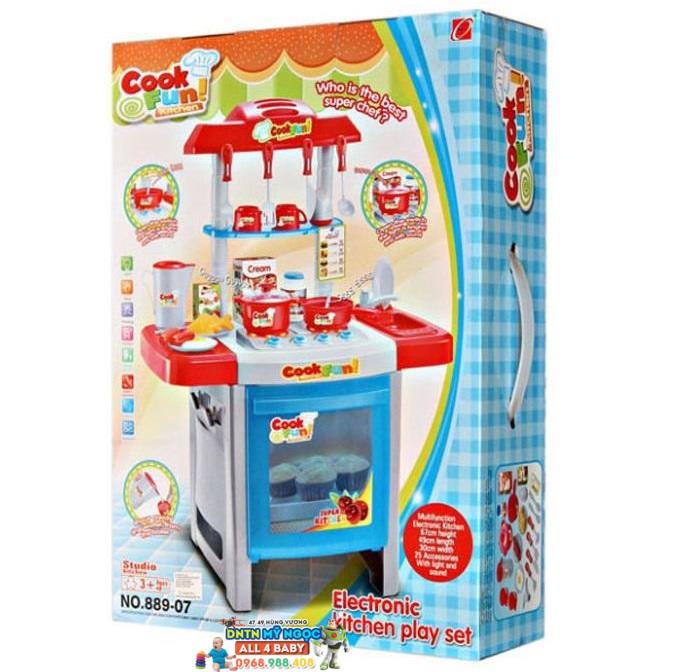 Đồ chơi nhà bếp lớn dùng pin Happy Kitchen 889-07A