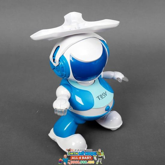 Đồ chơi Disco Robo Tosy - Lucas màu xanh phiên bản mới (Không Loa)