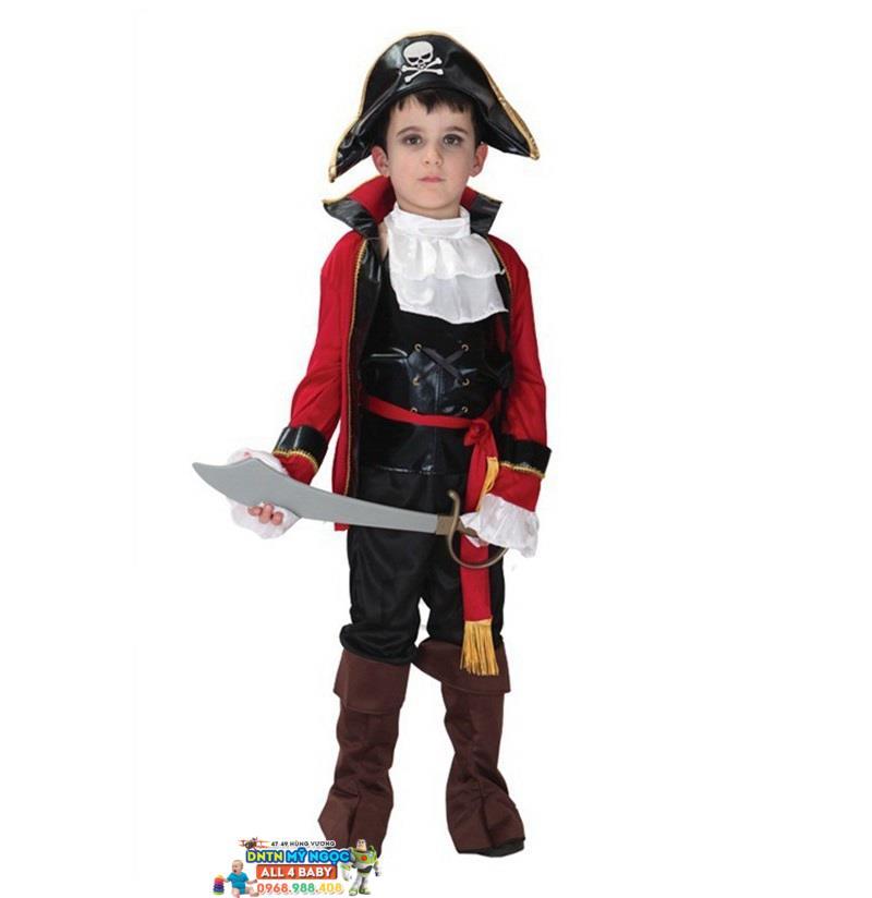 Trang phục Halloween hóa trang cướp biển