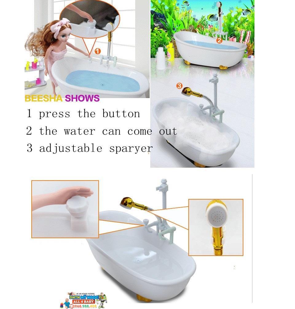 Đồ chơi nhà tắm búp bê 88507B