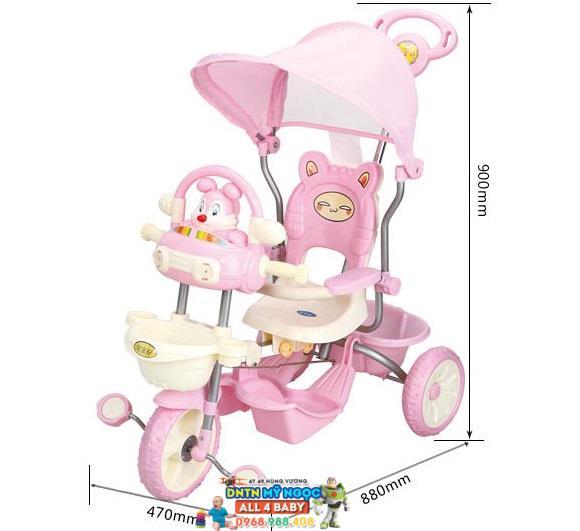 Xe đạp đẩy 3 bánh trẻ em hình thỏ 231G