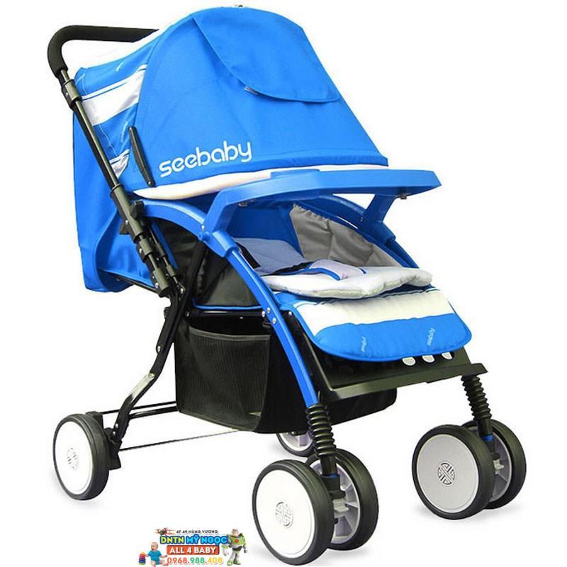 Xe đẩy trẻ em Seebaby 2 chiều tiện lợi T08