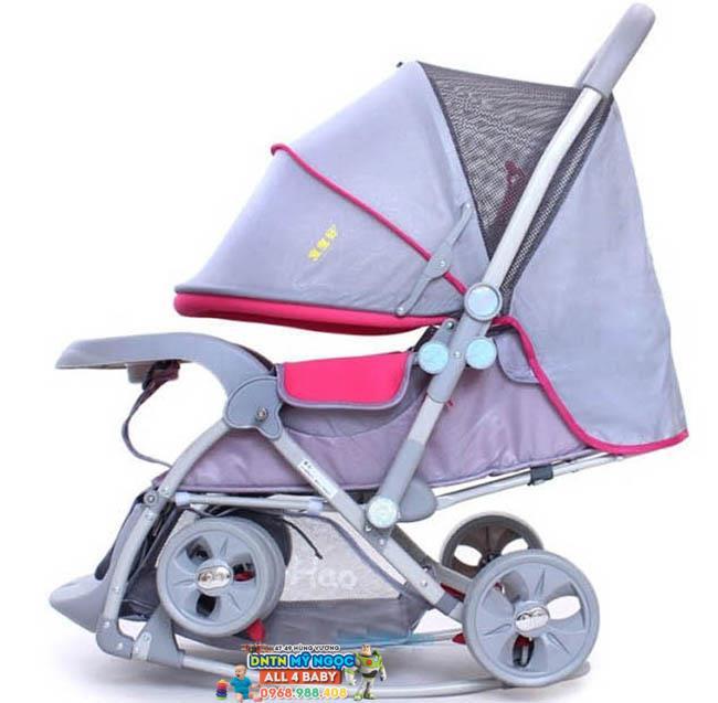 Xe đẩy em bé Baobaohao bập bênh 720