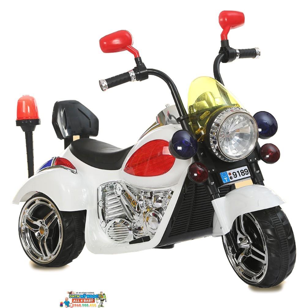 Xe môtô điện trẻ em cảnh sát Hacley 9189