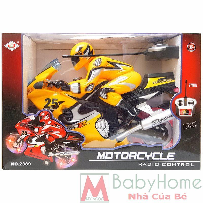Xe môtô điều khiển 2389 TĐ