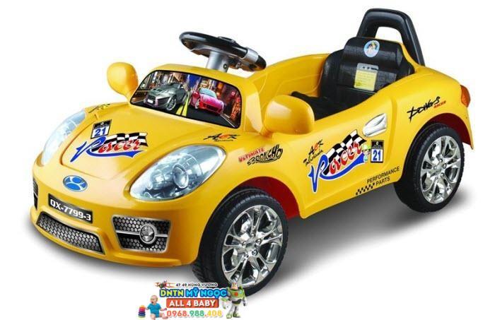 Xe ôtô điện trẻ em 7799 Kiểu xe thể thao