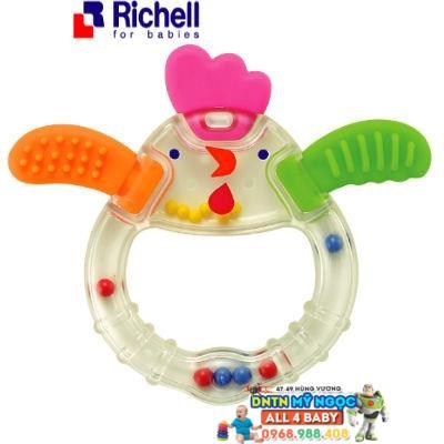 Richell - Xúc xắc gặm nướu gà con RC93754