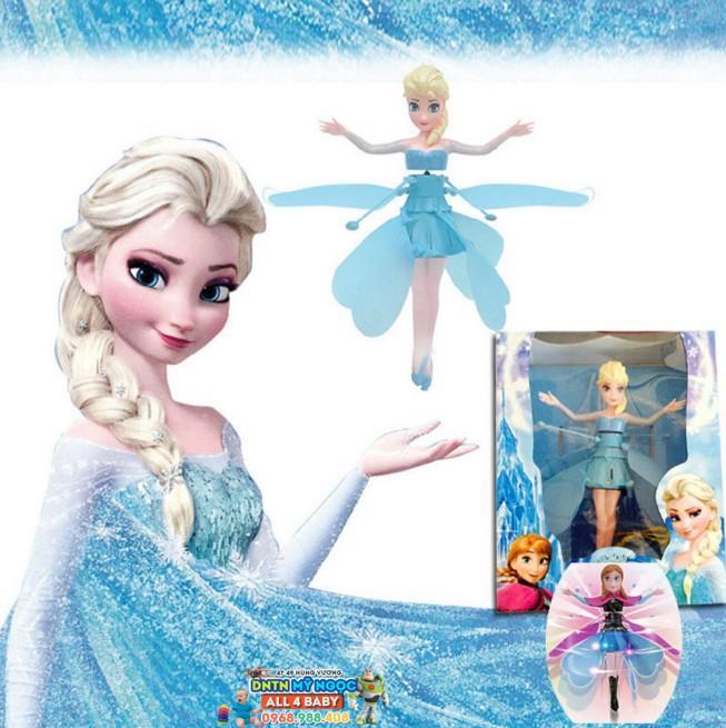 Búp bê bay Flying Elsa Frozen cảm ứng không đế 9085