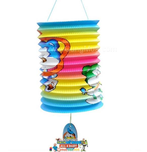 Đồ chơi lồng đèn giấy xếp hình ống (Cỡ nhỏ)