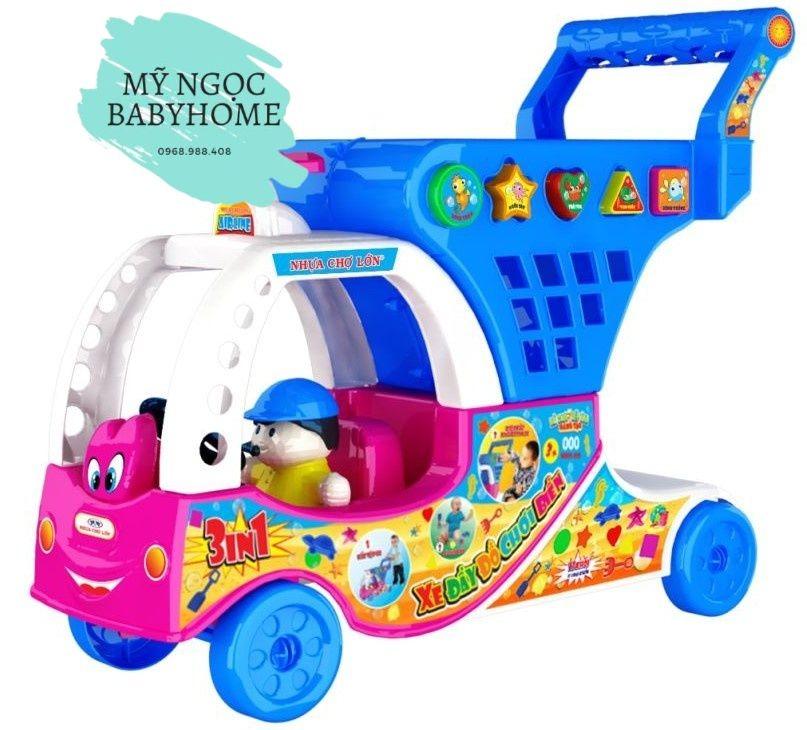 Đồ chơi xe đẩy siêu thị Nhựa Chợ Lớn