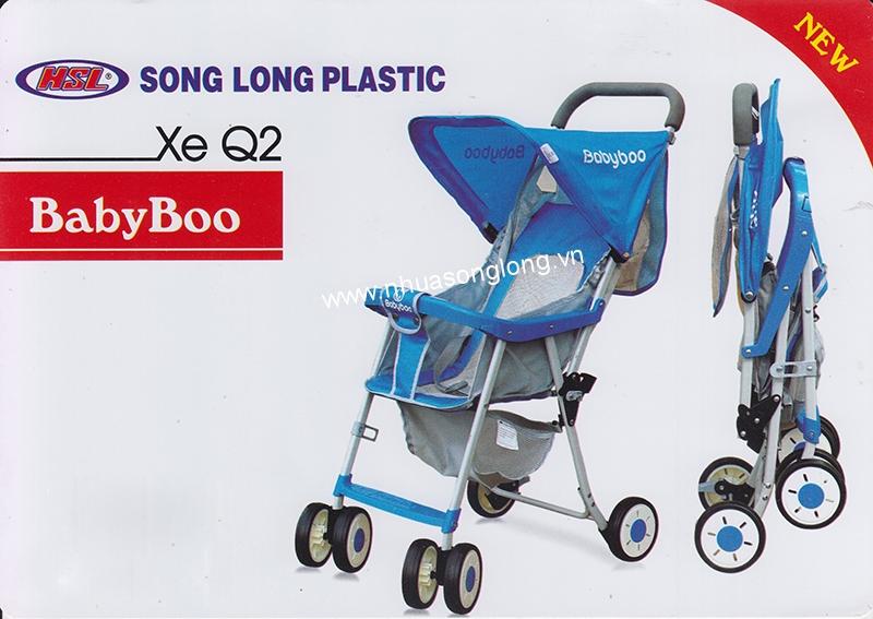 Xe đẩy cho bé Q2 BabyBoo Song Long