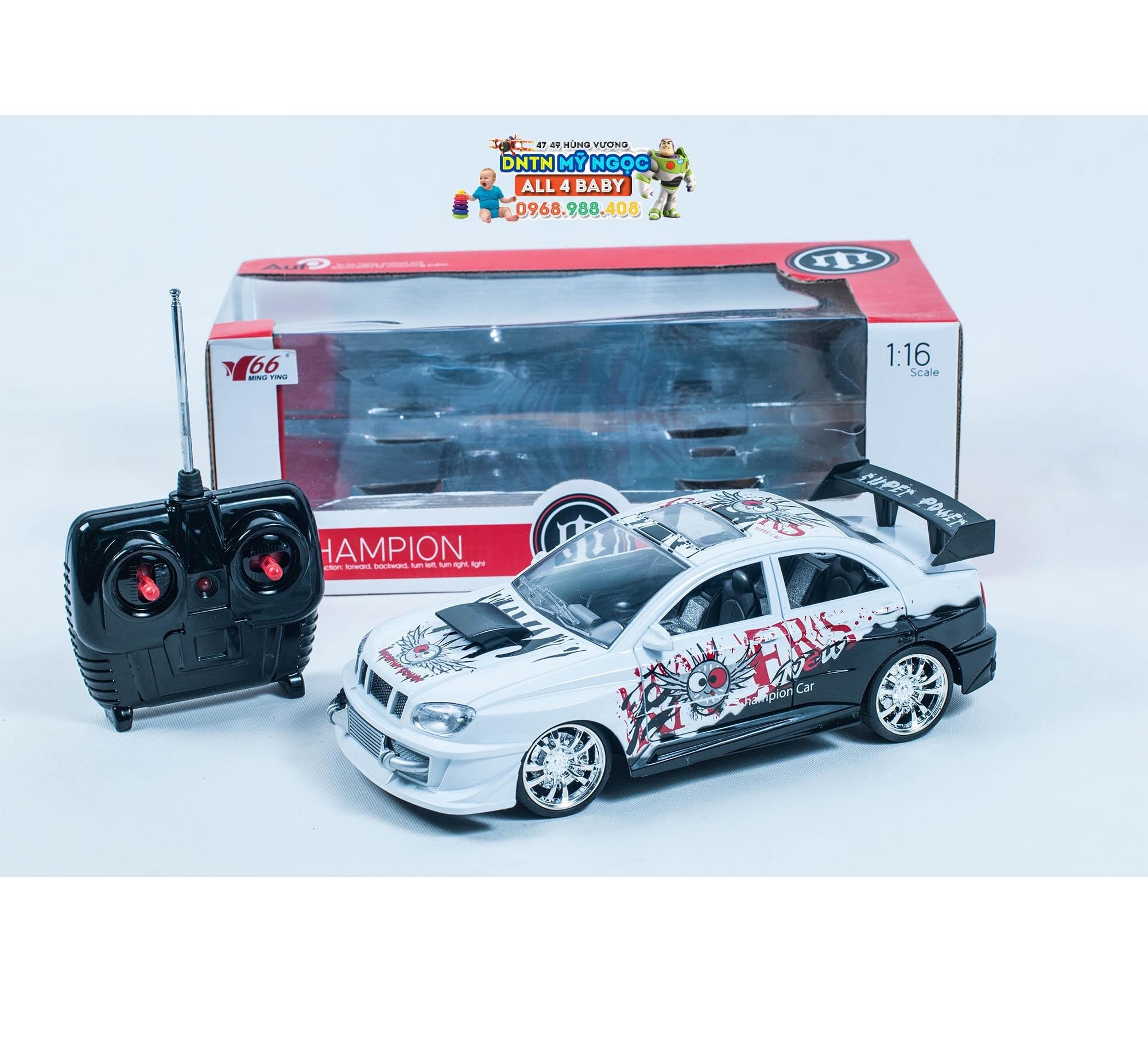 Xe ôtô điều khiển từ xa có đèn MY66-26