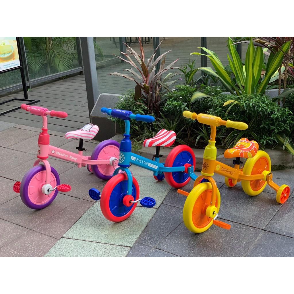 Xe đạp trẻ em đa năng 3 trong 1 phiên bản siêu anh hùng - 101A