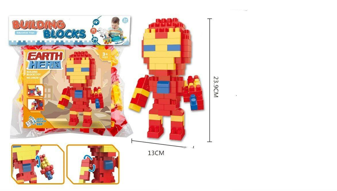 Túi lắp ráp lego siêu anh hùng