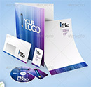 GraphicRiver - Corporate Identity & Stationary Mock-Up Bundle