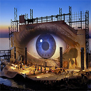THE FABULOUS FLOATING STAGE OF BREGENZ FESTIVAL