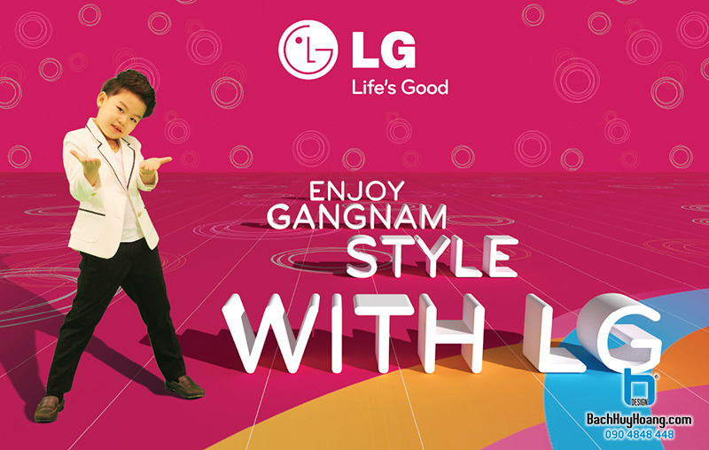 ENJOY GANGNAM STYLE WITH LG