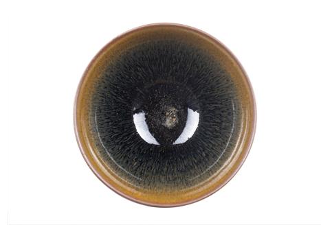 Chén Kiến Diêu Lông Thỏ Nung Củi 8.5cm