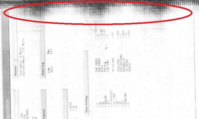 Máy in in HP M130 bị đen mép bản in 1️⃣ Sửa cấp tốc
