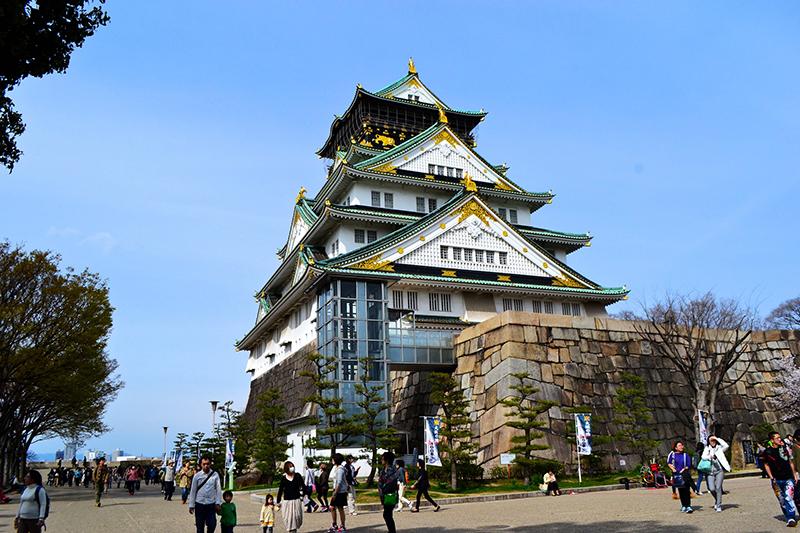 Image result for Lâu đài Osaka