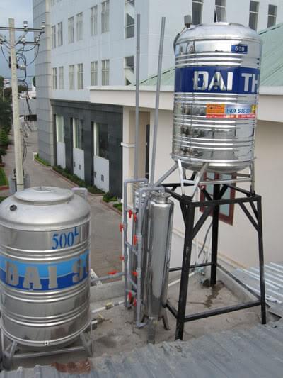 Lọc nước giếng khoan tại Văn Điển