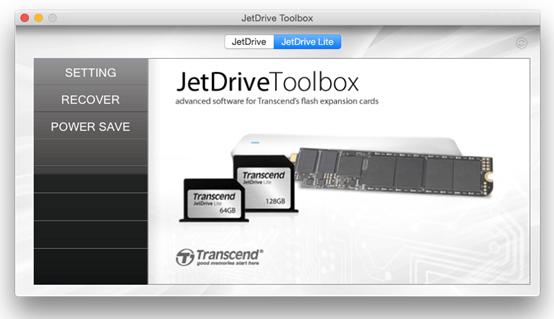 Phần mềm kiểm soát JetDrive