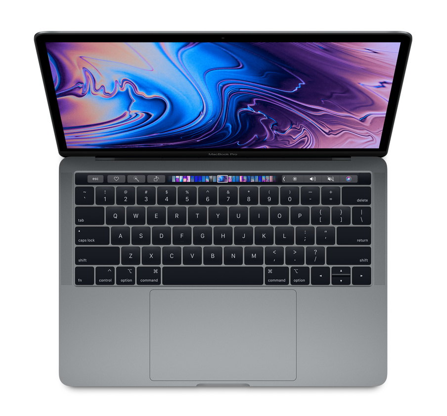 MR9Q2 - Macbook Pro 13 inch 2018 Space Gray 4 Core I7 16GB 256GB SSD New 95%