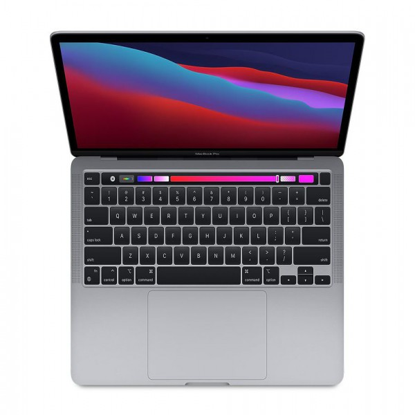 MacBook Pro M1  13in Touch Bar RAM 8gb, SSD256GB (Space Gray / Silver)- 2020