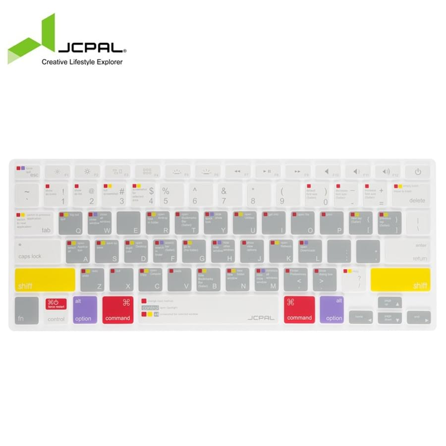 Phủ Phím Macbook 13/15 JCPAL Shortcut