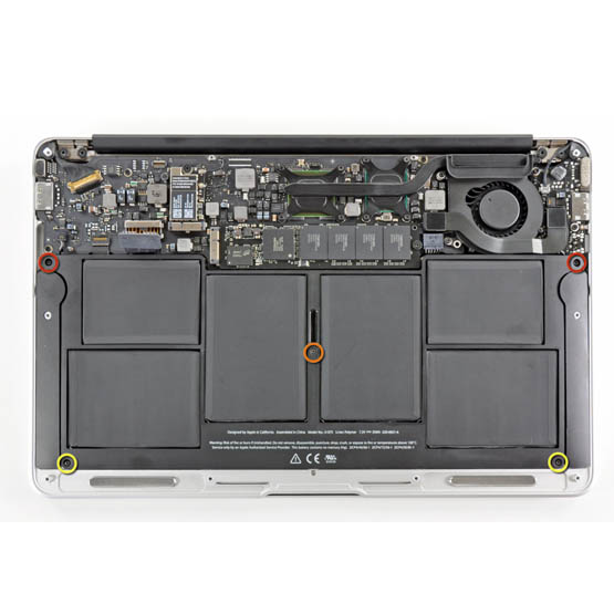 Pin MacBook Air 11 inch  -  Model A1375  ( Late 2010 )