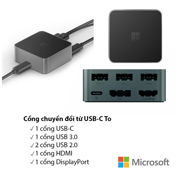 MICROSOFT HD-500 DISPLAY DOCK (LIKE NEW)