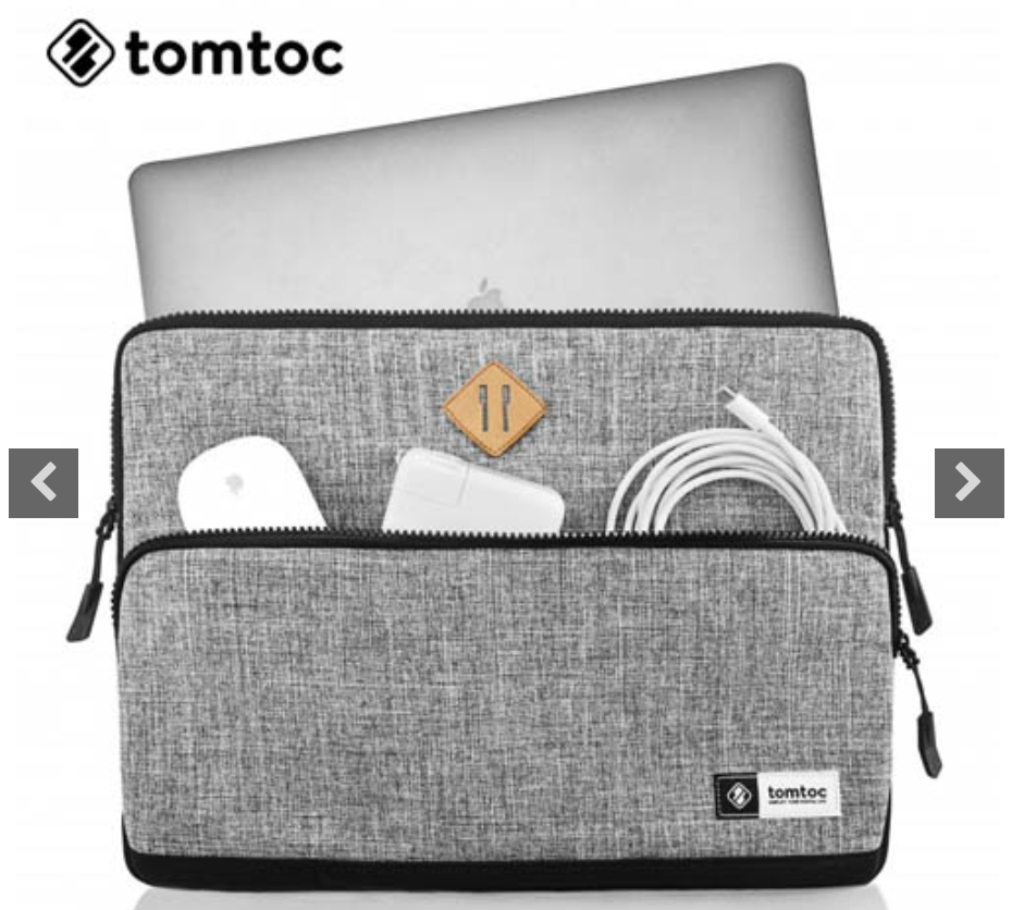 TÚI CHỐNG SỐC TOMTOC MULTI FUNCTION - GRAY (T080)