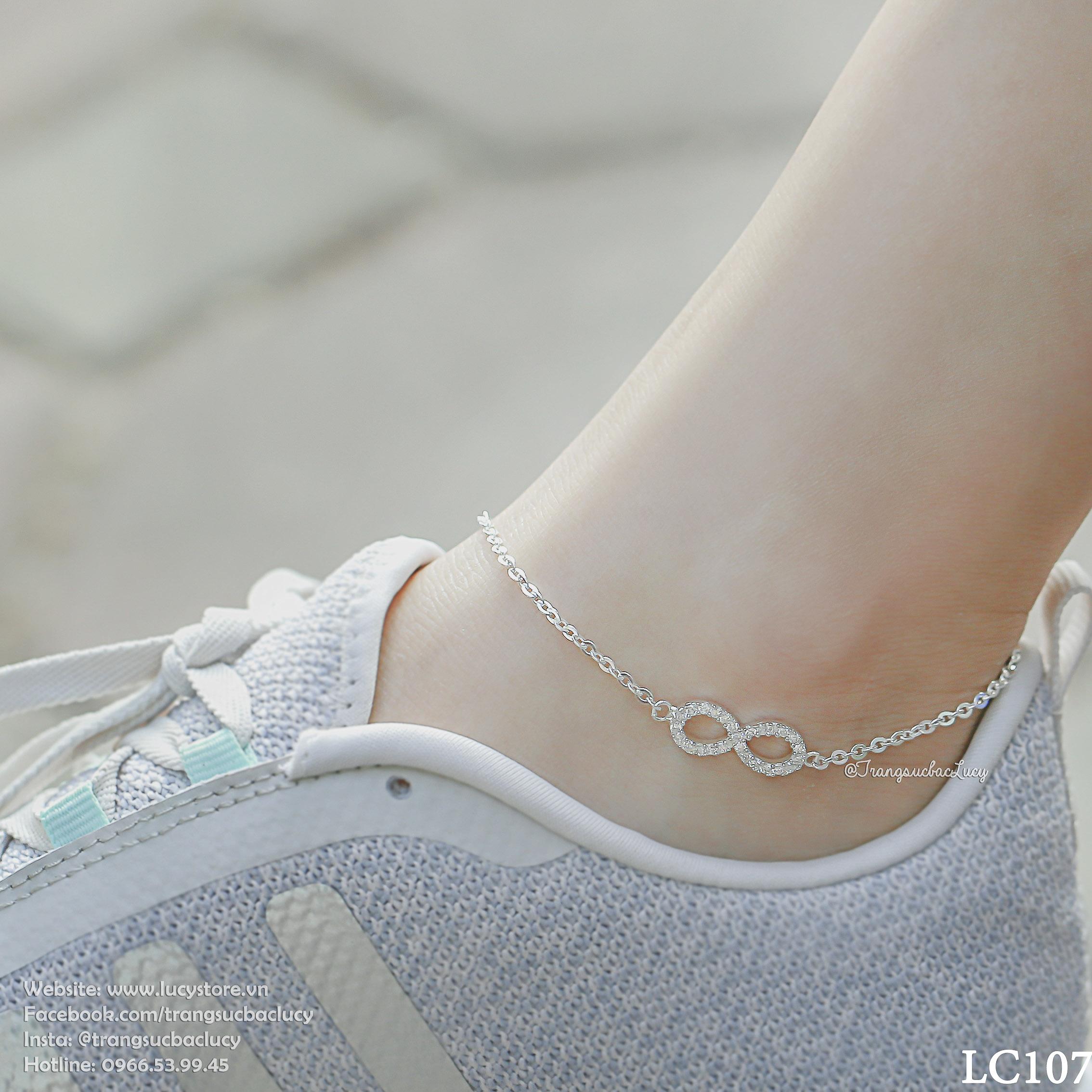 HÀNG ORDER - Lắc chân vô cực  - LC107