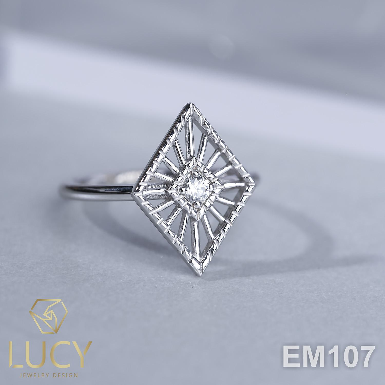 EM107 Nhẫn vàng nữ - Lucy Jewelry