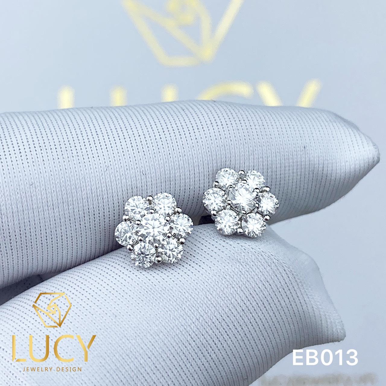EB013 Khuyên tai vàng nữ - Lucy Jewelry