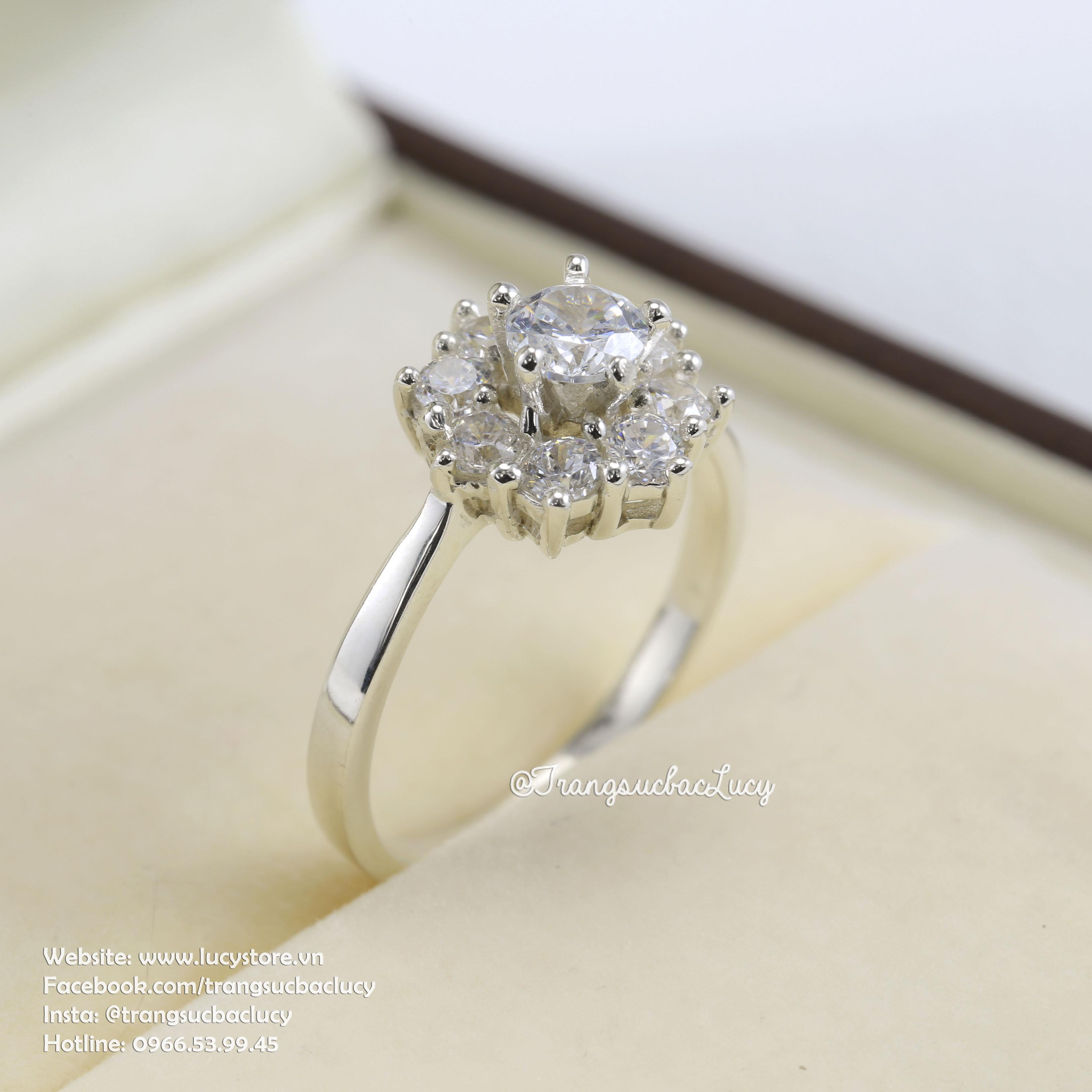 Nhẫn bạc nữ - RW207