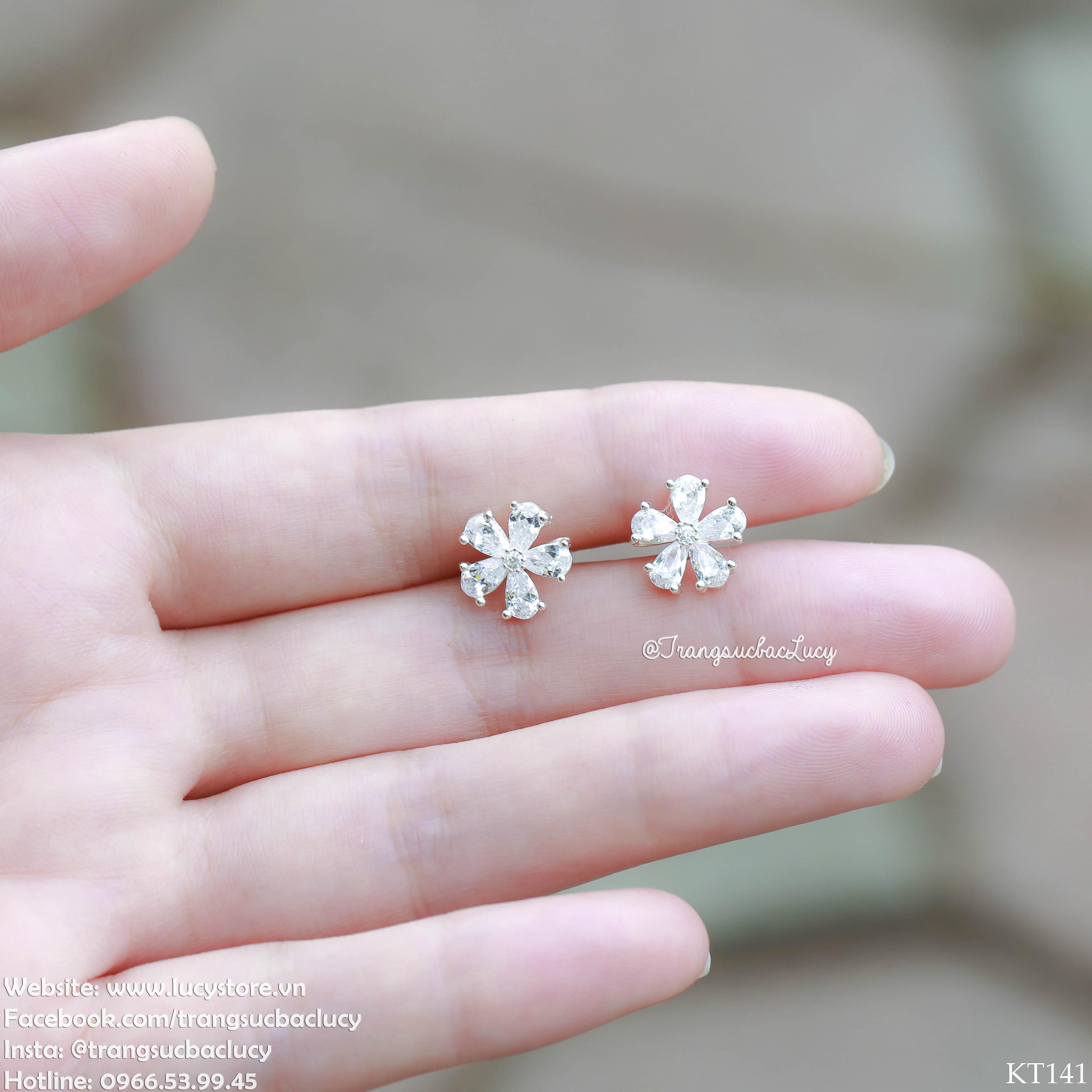 Khuyên tai hoa daisy  - KT141