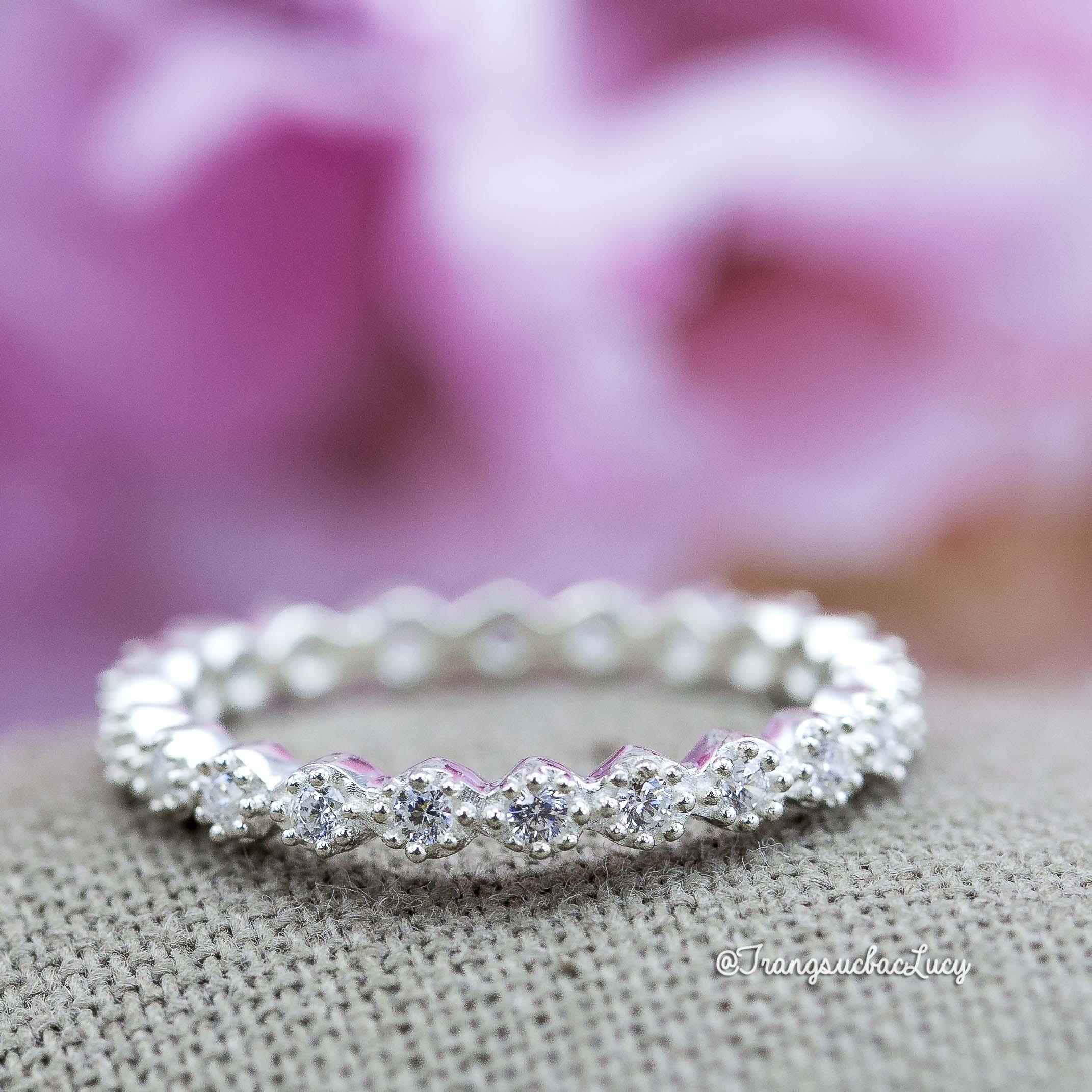 Nhẫn bạc nữ đẹp - RW220