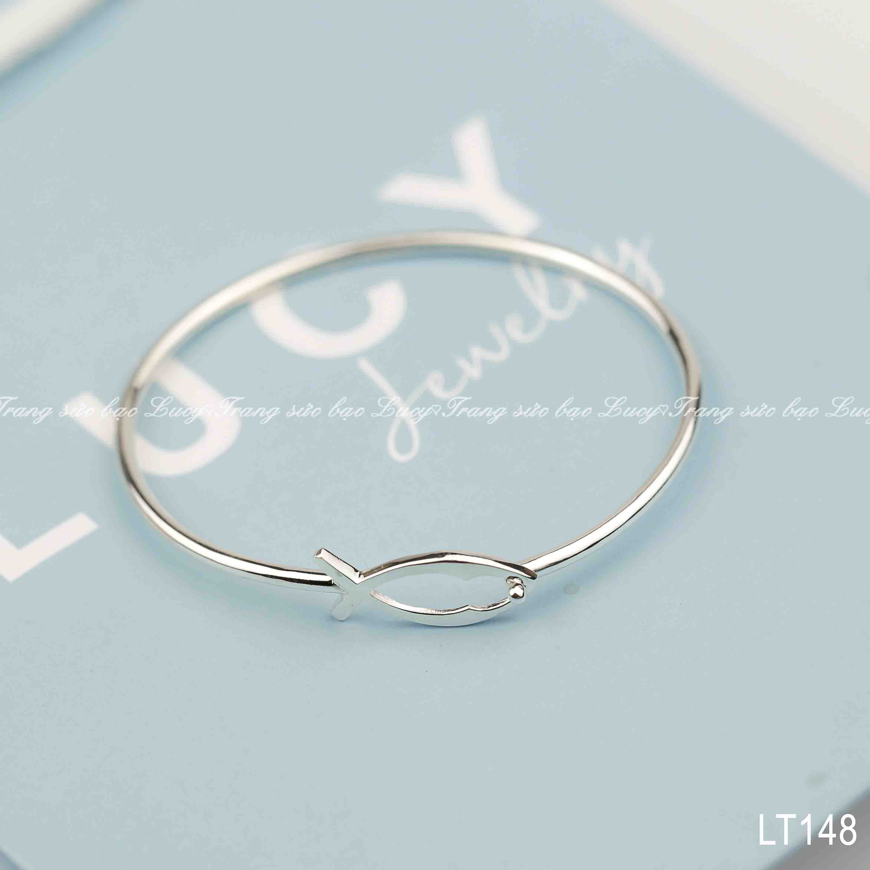 Lắc tay cá bạc Lucy - LT148