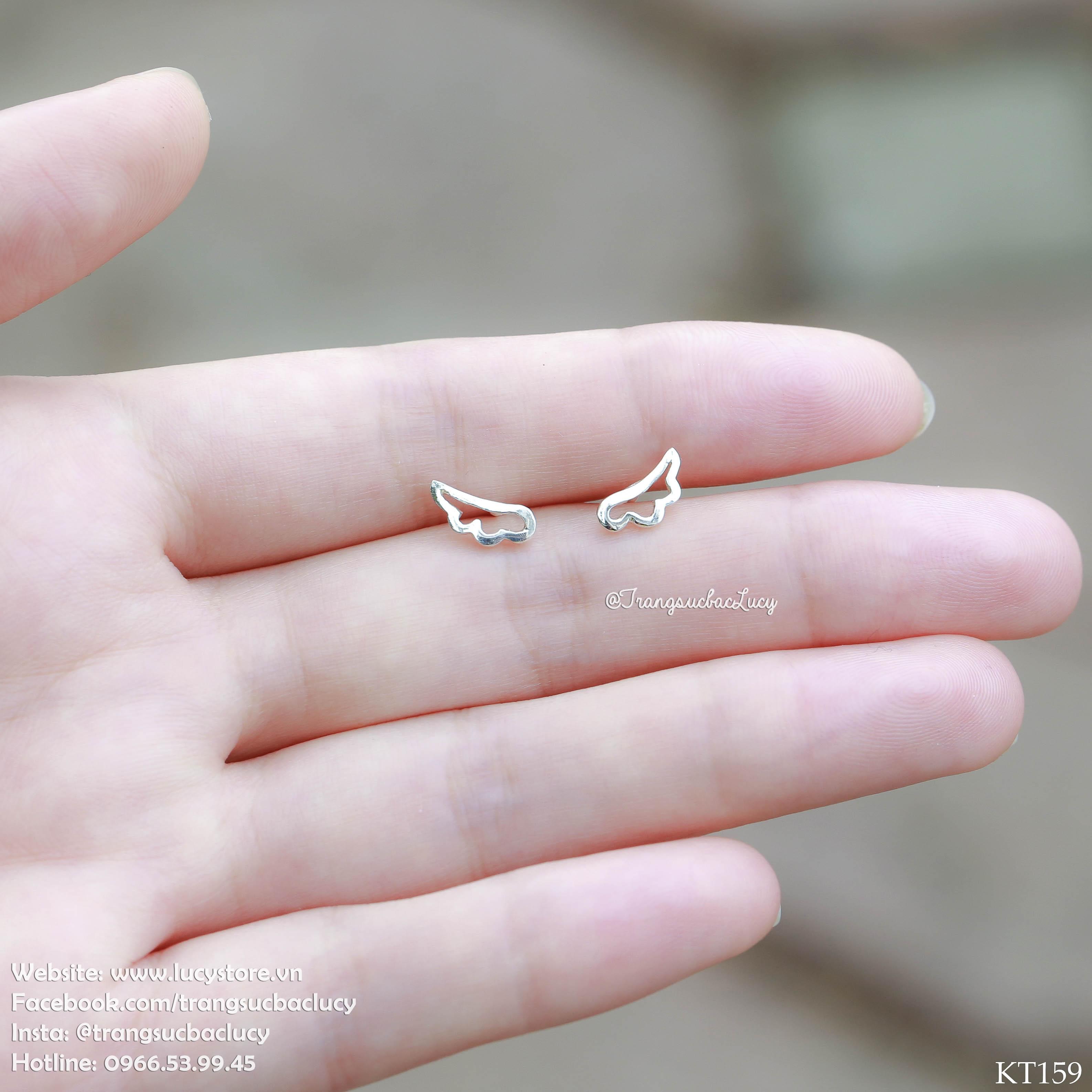Khuyên tai cánh thiên thần - KT159
