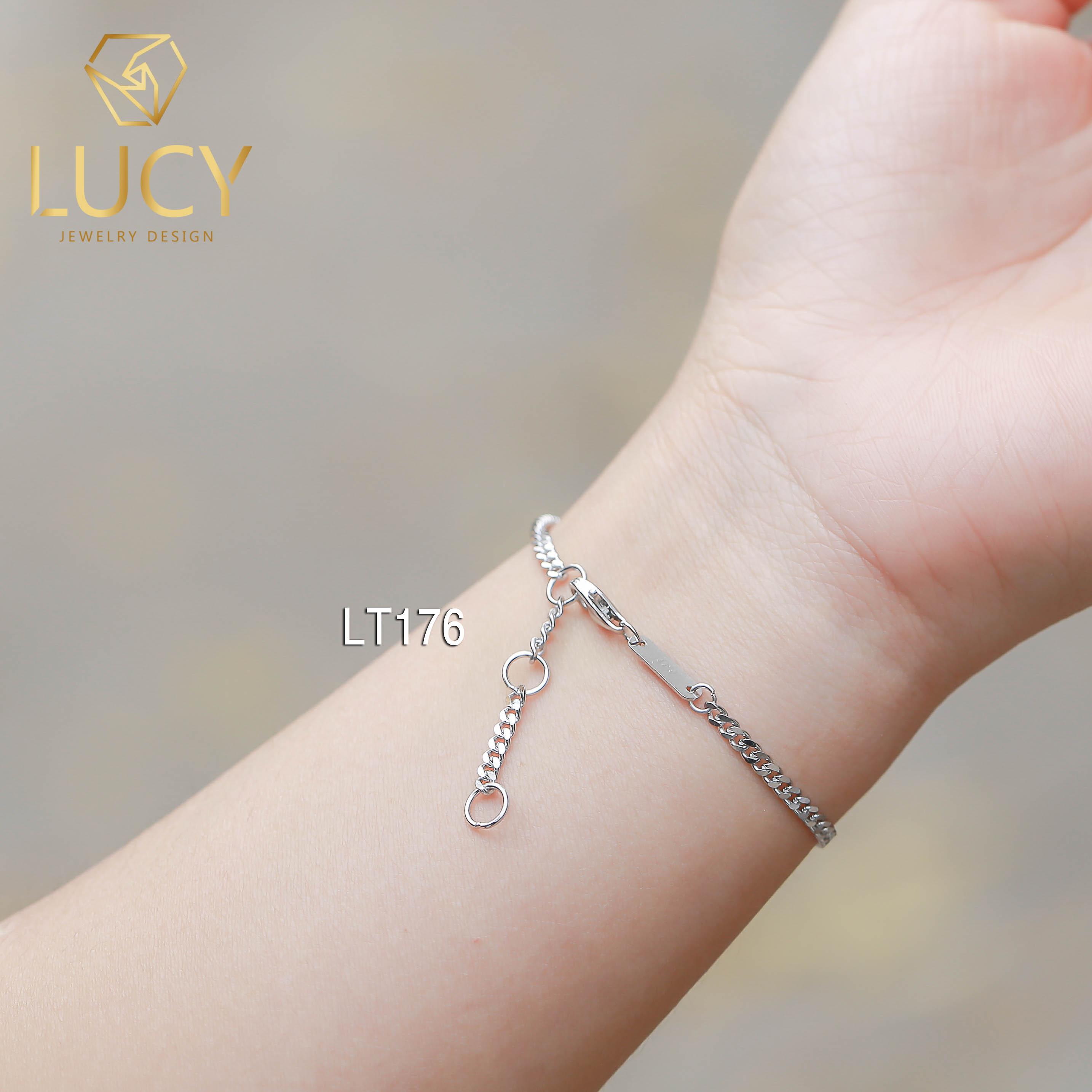 Lắc tay bạc Ý - LT176