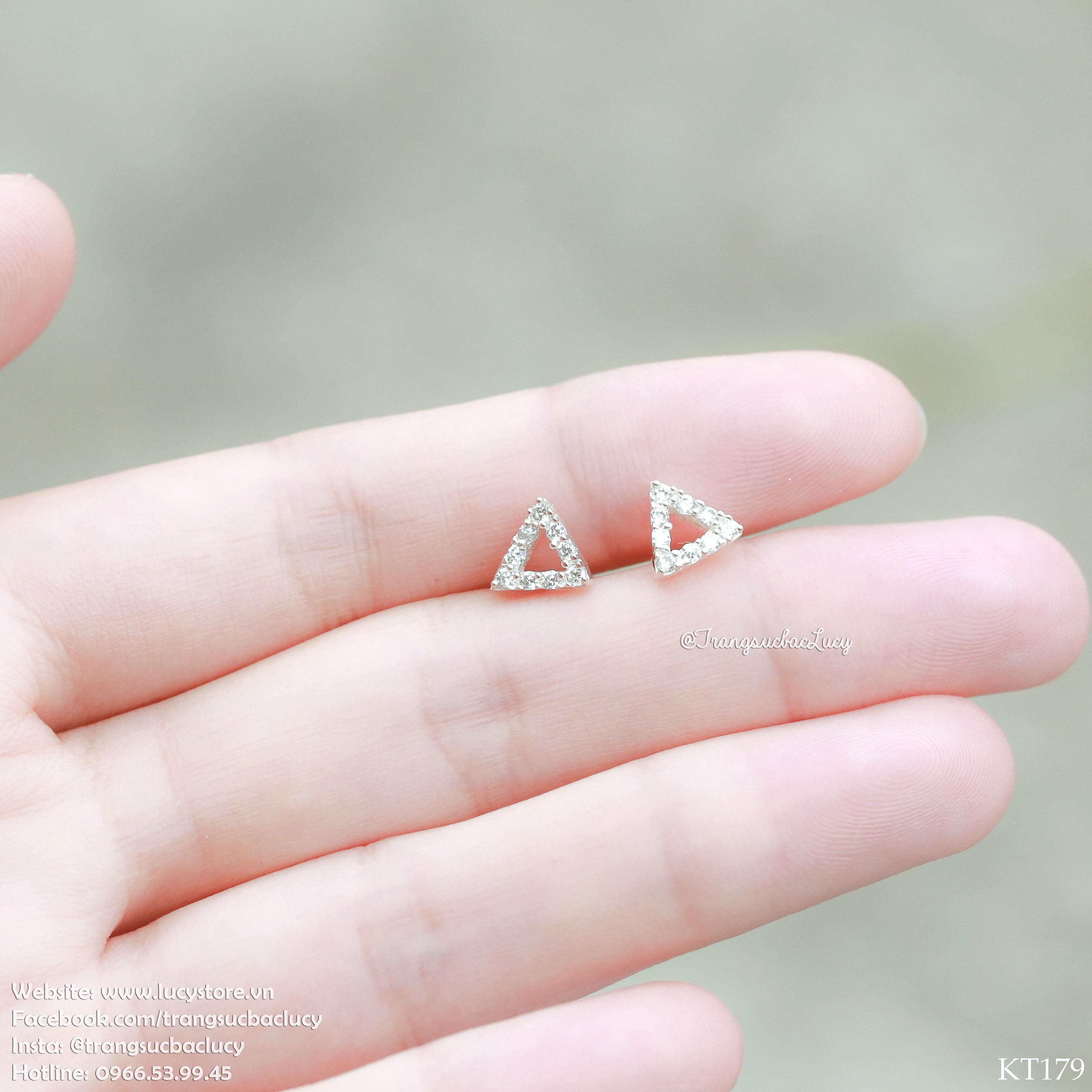 Khuyên tai tam giác - KT179