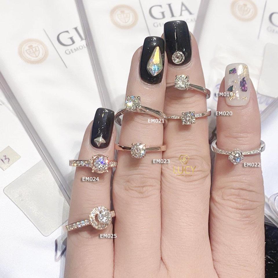 EM019 EM020 EM021 EM022 EM023 EM024 EM025 Nhẫn nữ, nhẫn vàng, nhẫn thiết kế, nhẫn cầu hôn, nhẫn đính hôn - Lucy Jewelry