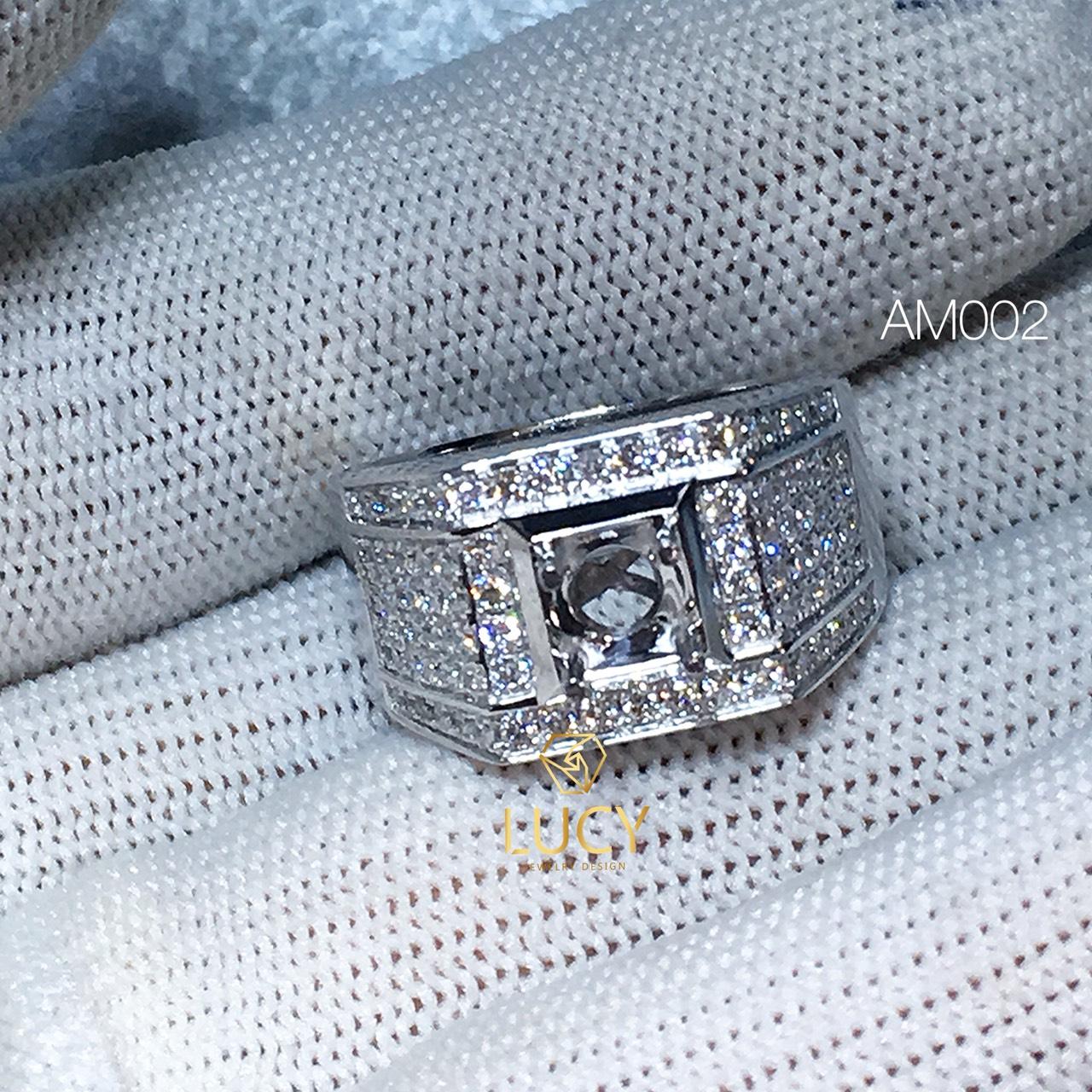 AM002 Nhẫn vàng nam hàng thiết kế LUCY JEWELRY