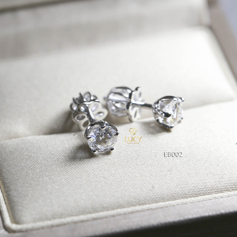 EB002 Khuyên tai vàng thiết kế Lucy Jewelry