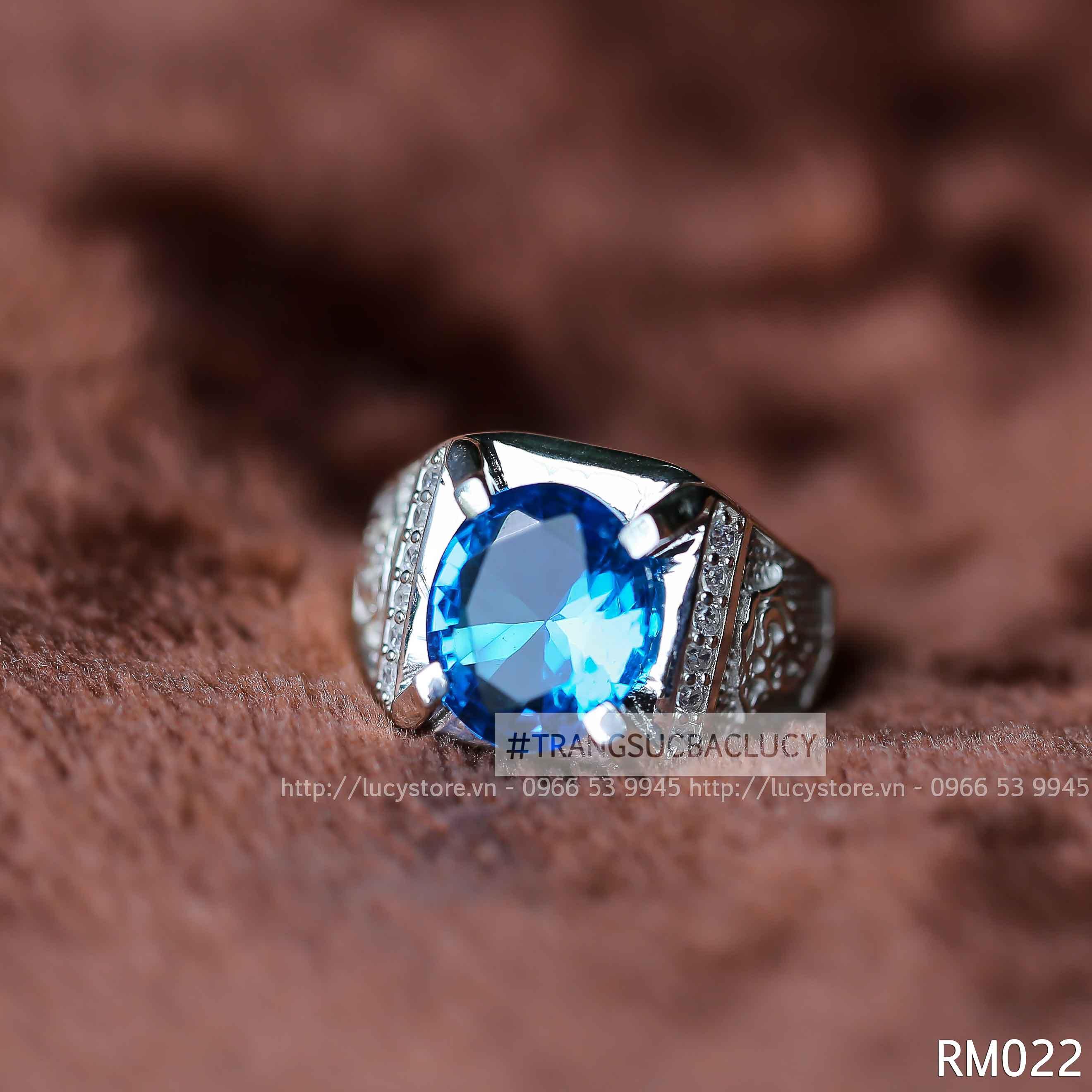 Nhẫn nam bạc Lucy - RM022